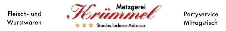 Metzgerei Krümmel, Essen - Fleisch- und Wurstwaren, Partyservice